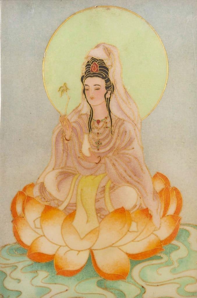 Abbildung einer Göttin